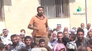 أهالي ازهيليلة يسلمون عناصر داعش للقوات الامنية بعد تحريرهم