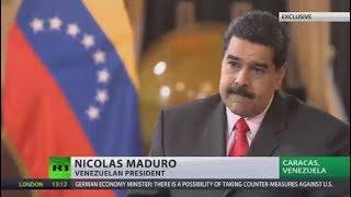 Maduro: US started indirect blockade against Venezuela's financial system (EXCLUSIVE)
