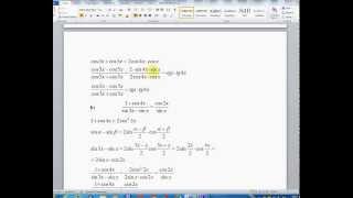 Lesson 18-Trigonometry-Instead, let us verify identities