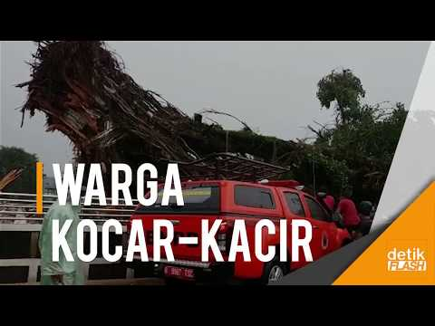 Badai Hantam Banjarnegara, 1 Orang Tewas dan 6 Terluka!