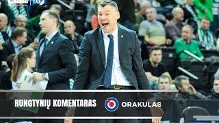 """Š.Jasikevičius: """"Žaidėjai parodė nepagarbą savo profesijai"""""""