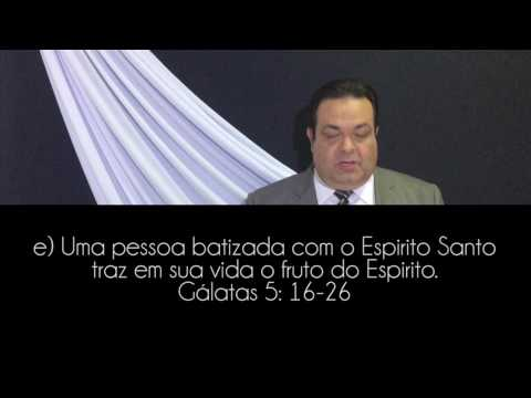 Escola Sabatina- Lição 05- O Batismo e  Plenitude do Espíruto Santo - O E.S. e a espiritualidade