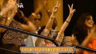 sakshi rawat dhoni in ipl 2013 glorious moments