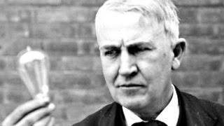 قصة إختراع المصباح الكهربى     و العبقرى توماس إيديسون .. !!