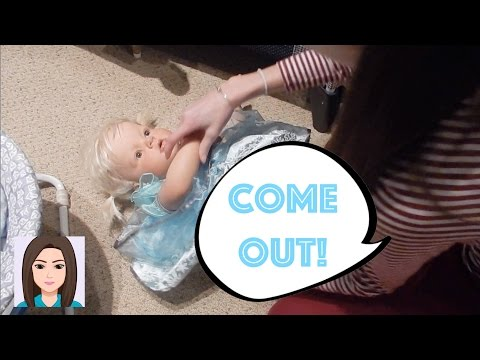 Reborn Toddler Laura Will Not Come Out Of Elsa Dress! Changing Reborn Toddler Laura