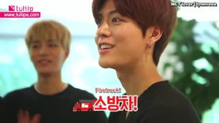 [ENG] 160912 [Tuliip] NCT 127 burning hot mission!