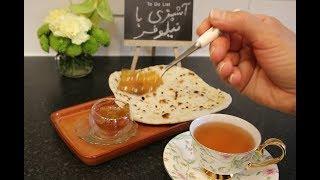 نون داغ تنوری ... نان خانگی شماره 2 ... خمیری بسیار لطیف و نانی بسیار لذیذ      Episode_90