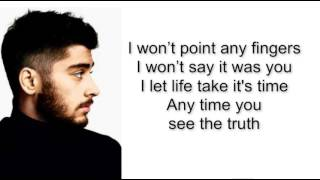 ZAYN - TRUTH (Lyrics)