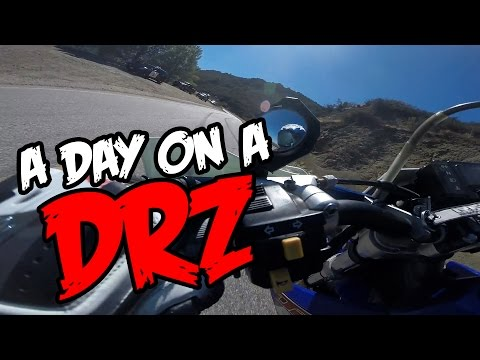 Is it legal? DRZ Supermoto, Mulholland and Making Kids Smile