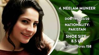 Most Beautiful feet - Pakistan