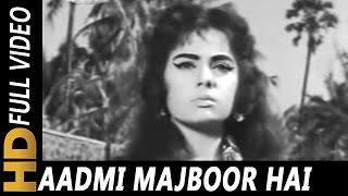 Aadmi Majboor Hai   Mohammed Rafi   Raaka 1965 Songs   Dara Singh, Mumtaz, K. N. Singh, Ganga