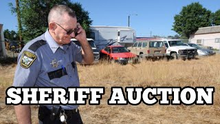 SHERIFF AUCTION OLD OWNERS DESTROYED PROPERTY Real Estate Investing Tips & Tricks How To Buy A House
