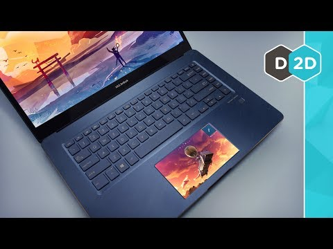 The Laptop with TWO Screens ZenBook Pro 2018