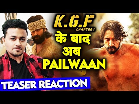 PAILWAN Teaser Reaction | Kiccha Sudeep | Pailwan Kushti