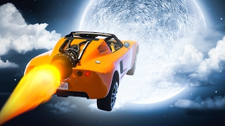 RACE TO THE MOON! (GTA 5 Funny Moments)