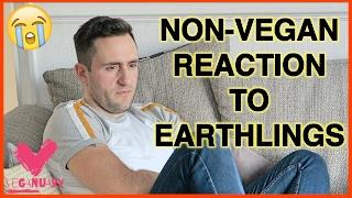 MY NON-VEGAN MATE'S REACTION TO EARTHLINGS! | Veganuary Challenge #5