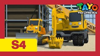 The Strong Heavy Vehicles in all seasons! l Tayo S4 Compilation l Tayo the Little Bus