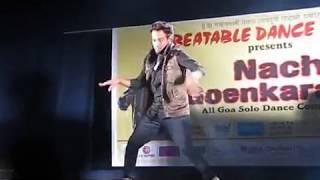 Dharmesh sir Performing in Nach Goenkara...