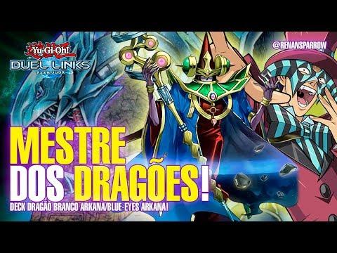 DECK DRAGÃO BRANCO ARKANA/BLUE-EYES ARKANA! - Yu-Gi-Oh! Duel Links #492