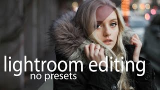 Lightroom Portrait Editing/Retouching