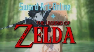 [Sword Art Online AMV] - The Legend of Zelda Rap Parody