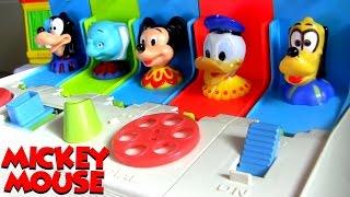 Brinquedo A Casa do Mickey Pop Ups Surpresa Disney Baby Mickey Mouse Clubhouse Pop-Up Pals Surprise