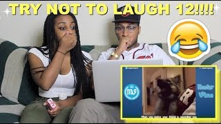 Couple Reacts : Try Not To Laugh or Grin Challenge Part 12!!! Loser Gets Tazed!!