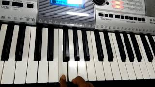 Chaha Hai Tujko song in keyboard