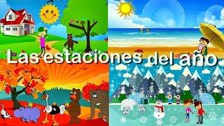 La Canción de las Estaciones del Año para Niños   Videos Educativos Infantiles en Español
