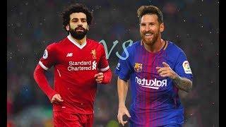Mohamed Salah VS Leo Messi - Crazy Skills Show & Goals - 2018 HD