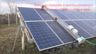 Soluzioni per lavaggio e pulizia fotovoltaico / Solar panel cleaning solutions / Lavaggio pannelli