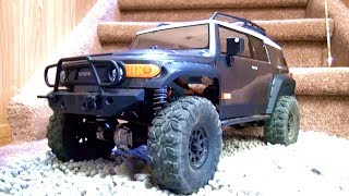 RC ADVENTURES - NEW GOTHAM CiTY RC BEAT DOWN - HPI Venture  Scale Truck w/ Maurice #ProudParenting !