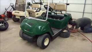 Rainy day projects:  Golf Cart Lift Kit