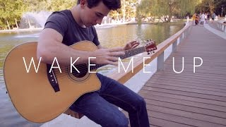Wake Me Up - Avicii - 2014 version (fingerstyle guitar cover by Peter Gergely)