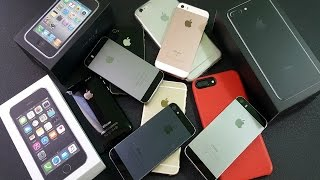 My Mega iPhone Collection 2017 || Part 1
