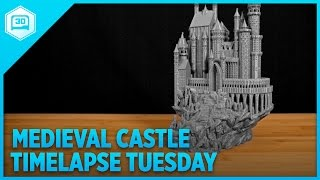 Medieval Castle - Timelapse Tuesday #3DPrinting