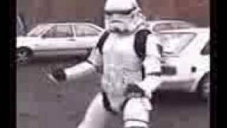 Really Funny Star Wars STORMTROOPER DANCE