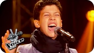Charles Aznavour - Lei (Matteo) | The Voice Kids 2016 | Blind Auditions| SAT.1