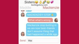 Mackenzie Ziegler Gets mad at Maddie Ziegler