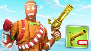 fortnite added the YEET PISTOL