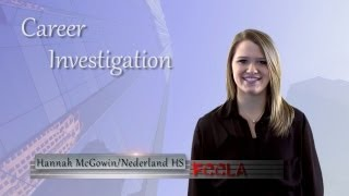 FCCLA Career Investigation