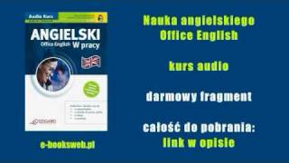Nauka angielskiego  Office English - kurs audio mp3