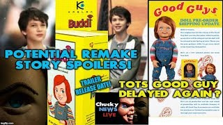 Child's Play Remake News - Story Spoilers - Trailer Release Date & TOTS Good Guy Delayed Again?!