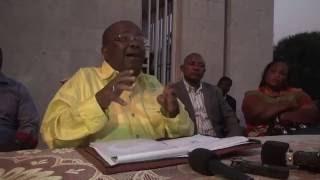AG Kyungu: Si Kabila arrive au 20 décembre il aura fait un coup d'état et le peuple va s'en charger