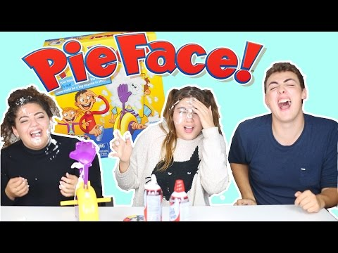 Siblings tag with Pie Face Challenge | Announcing giveaway winner!
