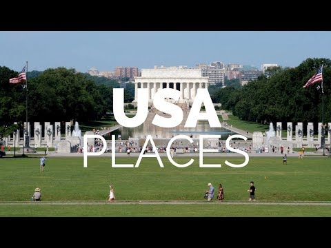 25 Best Places to Visit in the USA Travel Video