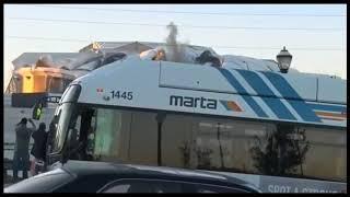 MARTA bus ruining GA Dome implosion - best version