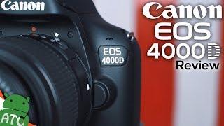 Canon 4000D - Cheapest DSLR | 4K | ATC