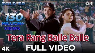 pc mobile Download Tera Rang Balle Balle - Soldier I Bobby Deol & Preity Zinta I Sonu Nigam & Jaspinder Narula