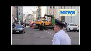 News Moscow police open case into suspected traffic offense after taxi...